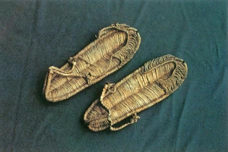 Budeulsin (sandals woven from silk or cotton threads), Important Folklore Cultural Heritage 209. Kim Ham (1568-1598) was a Joseon Dynasty general, died after fighting with Japanese pirates. Source: http://jikimi.cha.go.kr/english/search_plaza_new/ECulresult_Db_View.jsp?VdkVgwKey=18,02090000,36=*=0=EN_03_02