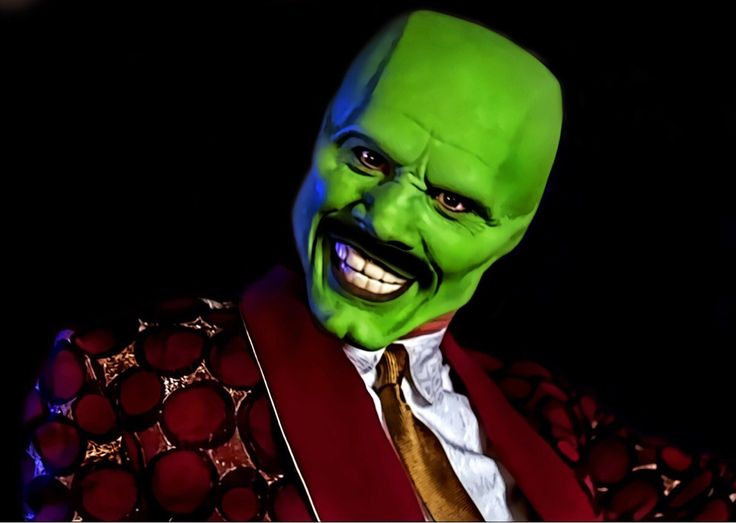 My girlfriend didn't agree that Steve Harvey looks like The Mask so I drew a mustache to illustrate my point.