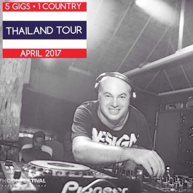 Happy to announce my return in THAILAND with 5 GIGS • April 2017  Full details soon