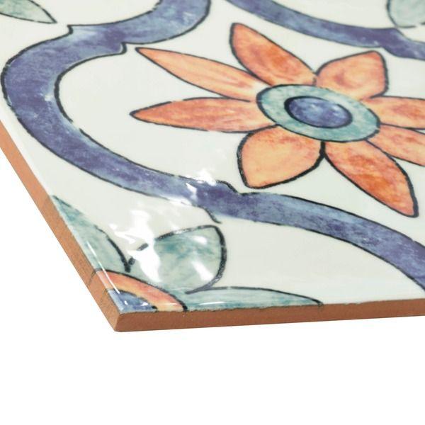 SomerTile 7-3/4x7-3/4-inch Borough Arco Ceramic Wall Tile (Case of 25)