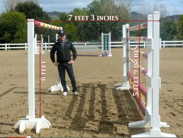 how to jump a high fence