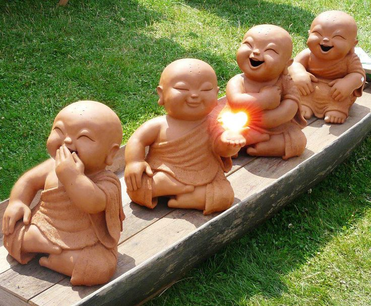 Laughing Buddhas <3
