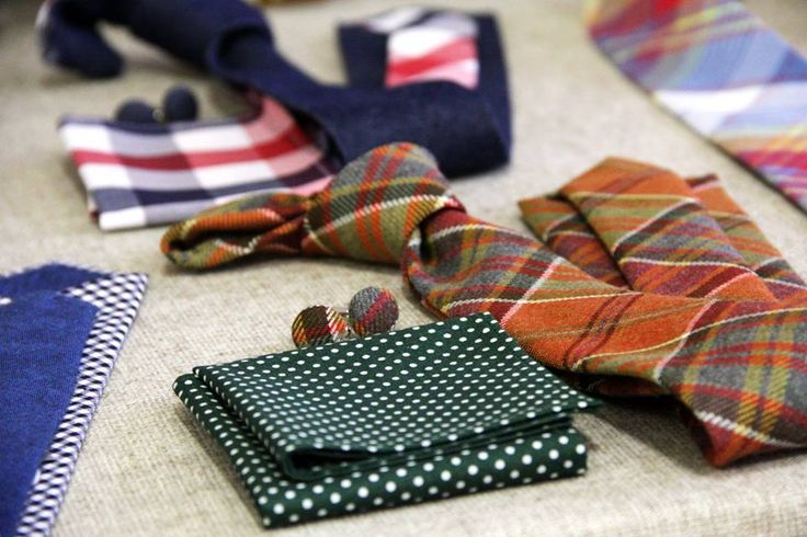 Our neckties from the latest Fashion market in Prague.
