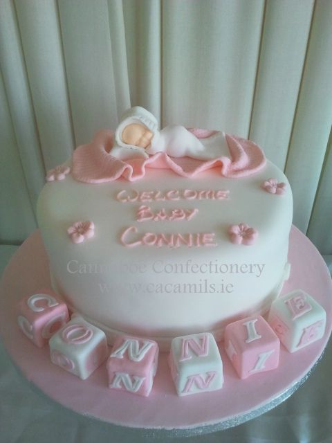 Christening cake for Connie | Flickr - Photo Sharing!