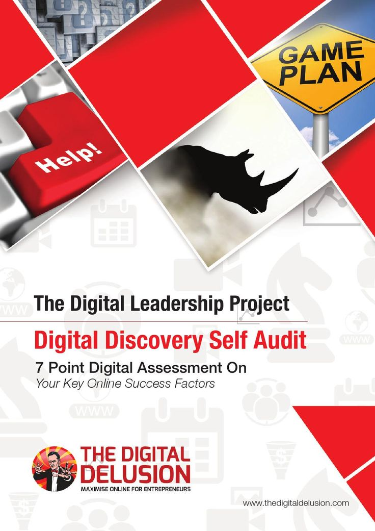 "Your Digital Discovery Self Audit - The Digital Leadership Project by Doyle Buehler  7 Point Digital Self-Assessment on Your Key Online Success Factors. Created by Doyle Buehler, Author of The strategy book on digital leadership - ""The Digital Delusion: How To Overcome the Misguidance & Misinformation Online"""