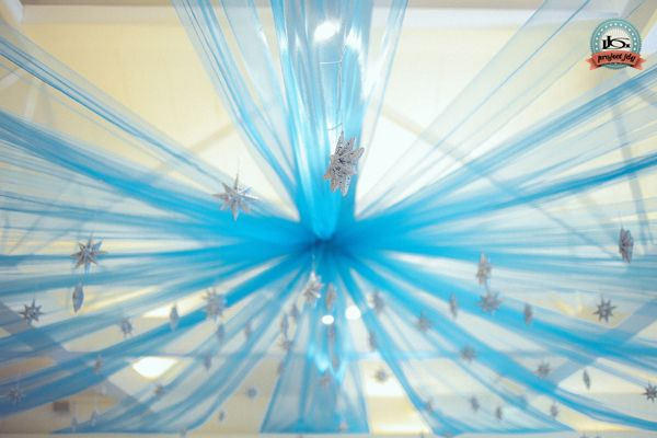 Brianna's Cinderella themed party - Ceiling