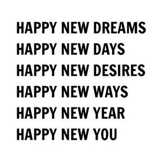 happy new you..........
