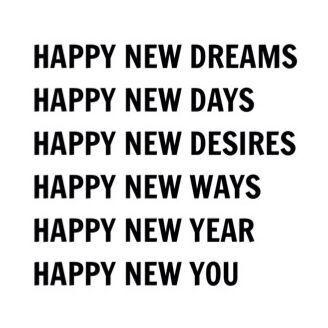 new year.
