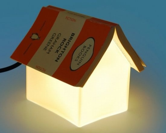 Reading lamp that doubles as bookmark: Books Houses, Night Lights, Books Rest, Bookrest Lamps Jpg 550 439, Frostings Glasses, Glasses Lights, Bookrest Lights, Reading Lamps, Books Lights