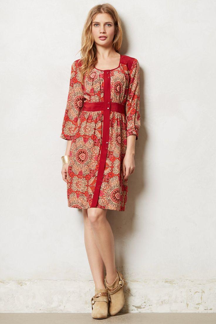 Operetta Peasant Dress - anthropologie.com