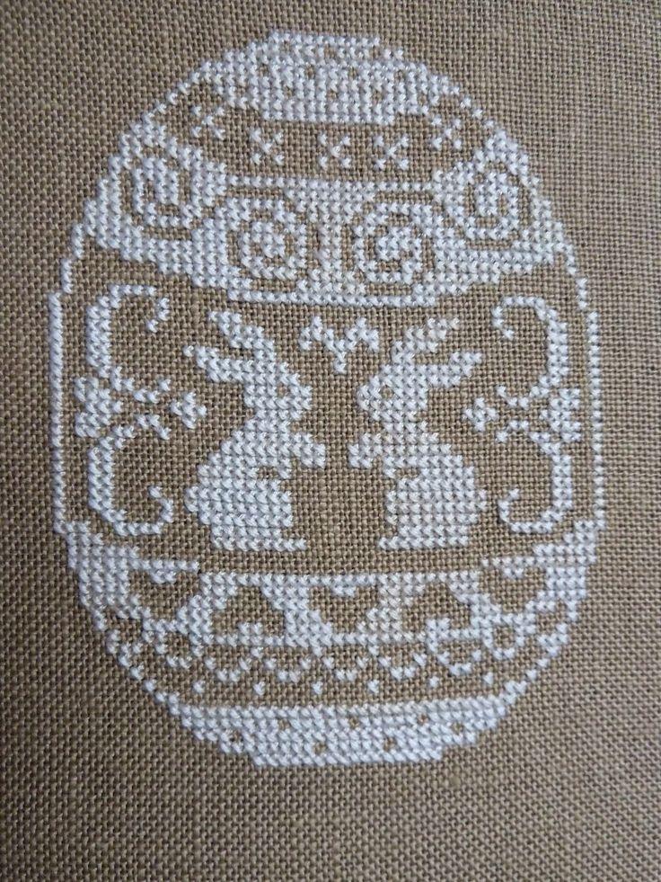 Χειροτεχνήματα: Πασχαλινές σταυροβελονιές / Easter cross stitch patterns