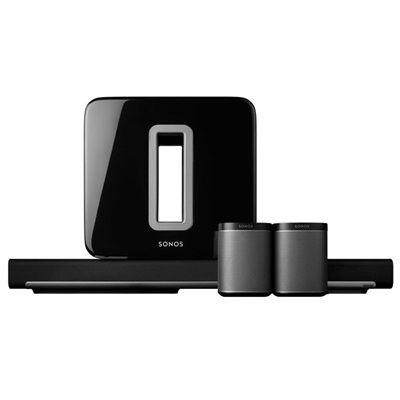 Trådlöst 5.1 Surroundljud-paket | Sonos