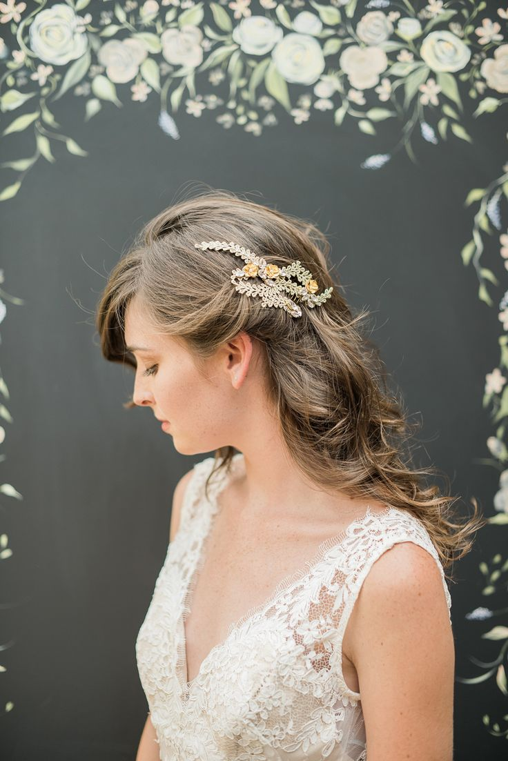 208 best wedding - bridal hair | accessories images on pinterest