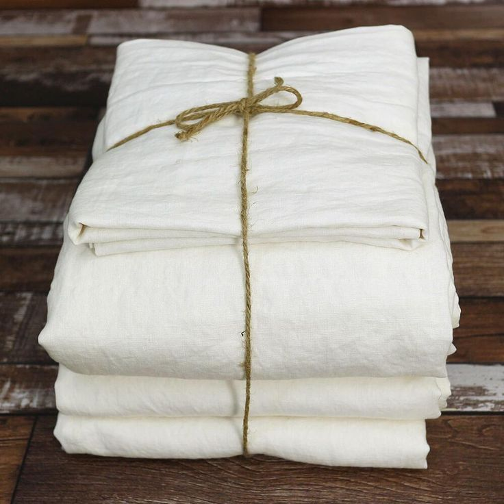 Our Linen Sheets set in Chalk hue is made from the best flax from France upon order. Get a classical and comfortable foundation for your new bed makeover.