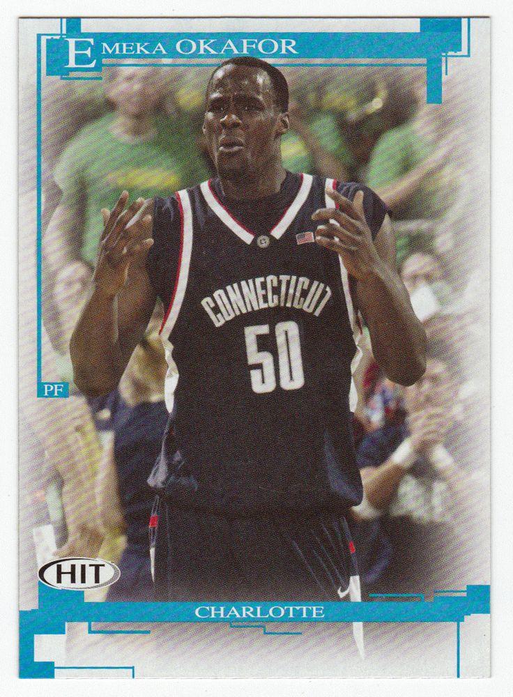Emeka Okafor # 50 - 2005 SAGE Hit Basketball