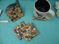 Ζωή Χωρίς Χρήματα: Μοναδικές ιδέες διακόσμησης με βότσαλα και πέτρες