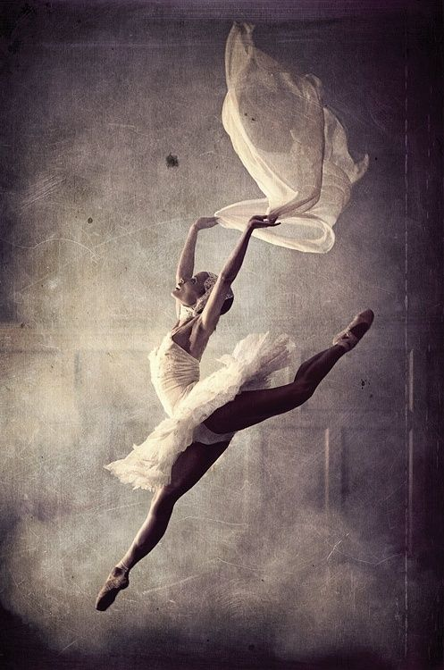 Flying #ballerina