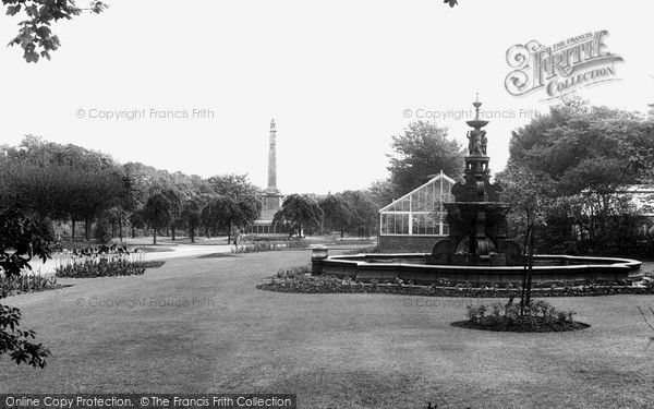 Widnes, Victoria Park c.1955, from Francis Frith