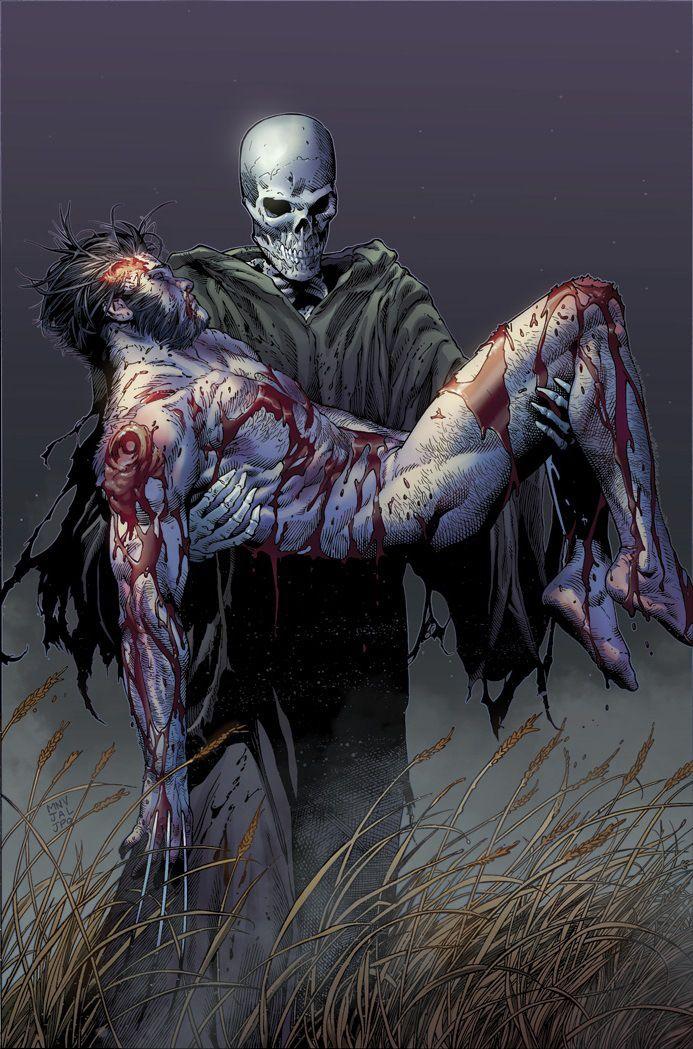 #Wolverine #Fan #Art. (Death Of Wolverine Vol.1 #4 Cover) By: Vicente Cardenas. (THE * 5 * STÅR * ÅWARD * OF * MAJOR ÅWESOMENESS!!!™)