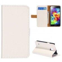 Forro Libro Samsung Galaxy S5 mini Magnetica Stand Blanca $ 23.200,00