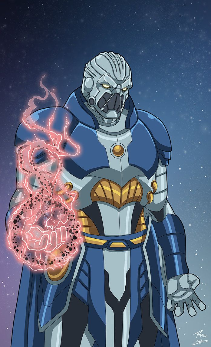 Anti-Monitor (Earth-27) commission by phil-cho.deviantart.com on @DeviantArt