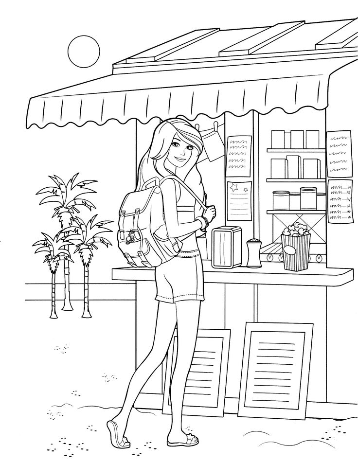 barbie coloring page 62jpg 17002200