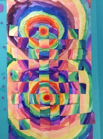 """4th color weaving"" Artsonia Art Museum :: Artwork by Naomi1378"