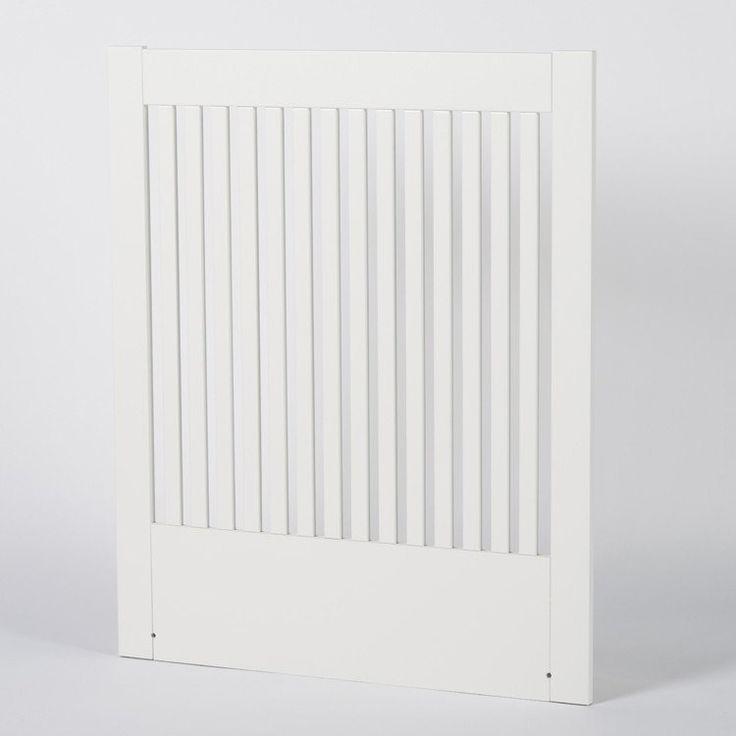 Zebra Collection ~ NOVA sänggavel i vit MDF 90-210 cm