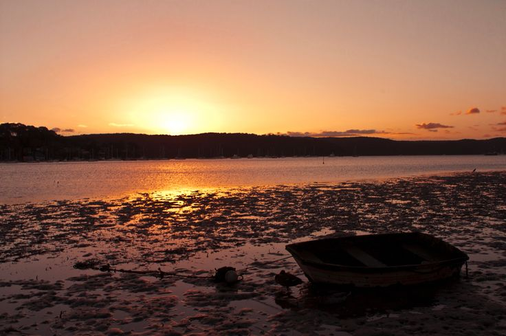 Sunset over the Pittwater, Avalon, NSW Australia  Copyright of Jo Thom