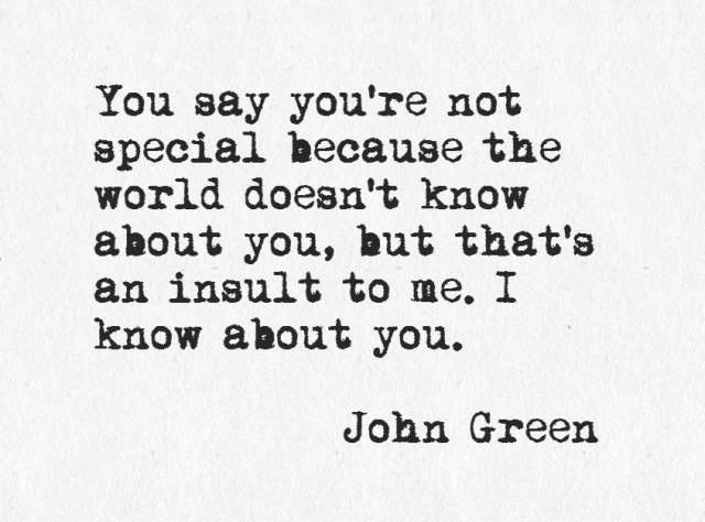 John Green. | Literary Quotes | Pinterest