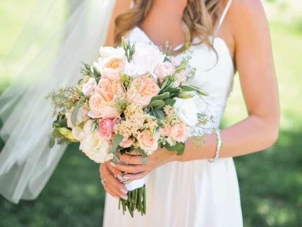 Outdoor Hochzeit in Washington von Blue Rose Pictures // Hochzeitsblog miss solution