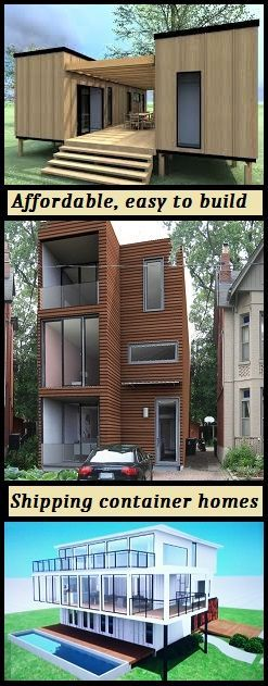Find all the information you need to design and build your for Design your own container home