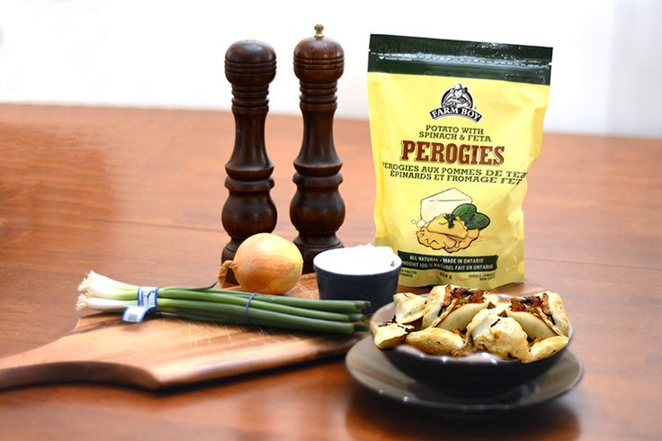 Try our authentic European–inspired perogies, made with fresh dough and stuffed with savoury ingredients.  Tasty and ready in minutes, look for them in our freezer section.  Available in 4 varieties.