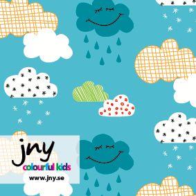 Emrose Designs, LLC - JNY Happy Clouds (blue) Organic Cotton Knit, $15.95 (http://www.emrosedesigns.com/jny-happy-clouds-blue-organic-cotton-knit/)