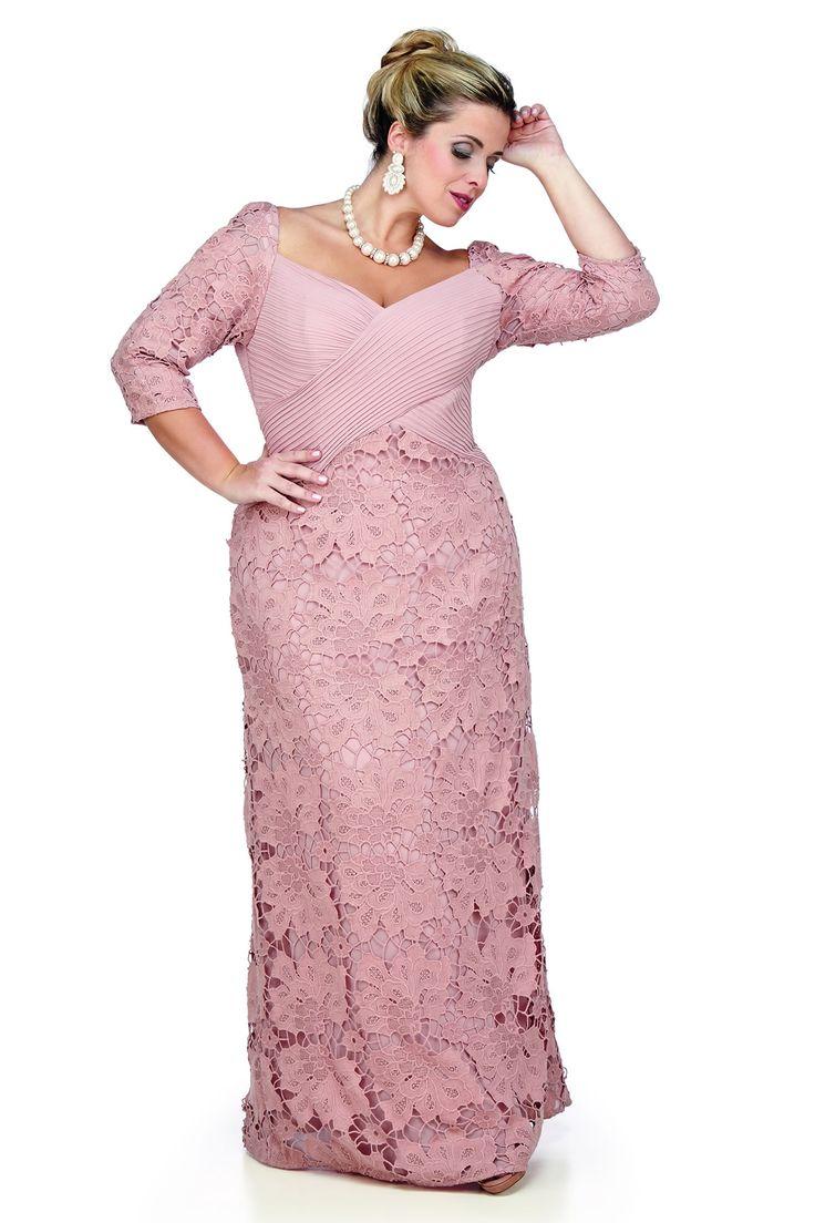 206 best MODAS images on Pinterest | Evening gowns, Plus size ...