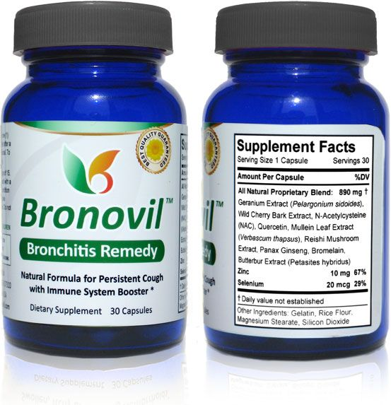 Bronchitis Relief | Bronchitis Treatment | Bronovil Natural Bronchitis Remedy