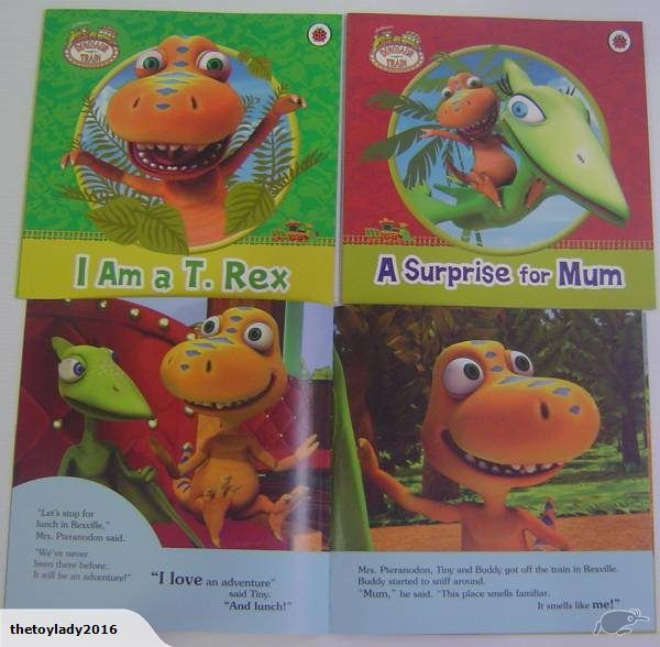 2 Dinosaur story books  I am T.Rex  A surprise for mum  24 pages per book  paperback  measures 20.5cm x 20.5cm  Brand New    Please browse my other auctions for...