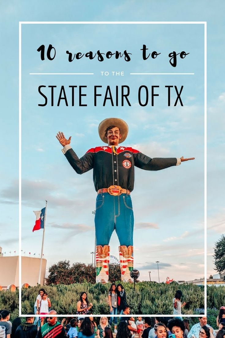 Ten Reasons You Have To Go To The Texas State Fair With Images