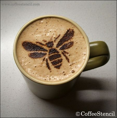 How about a bee in your coffee?  #bees