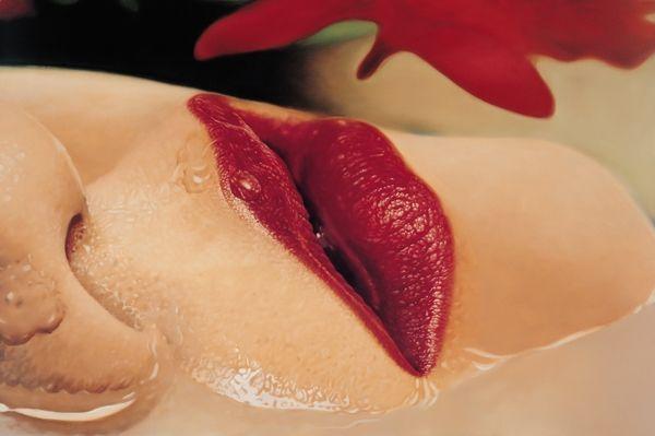 Sung Jin Kim - Photorealist Mouths-04