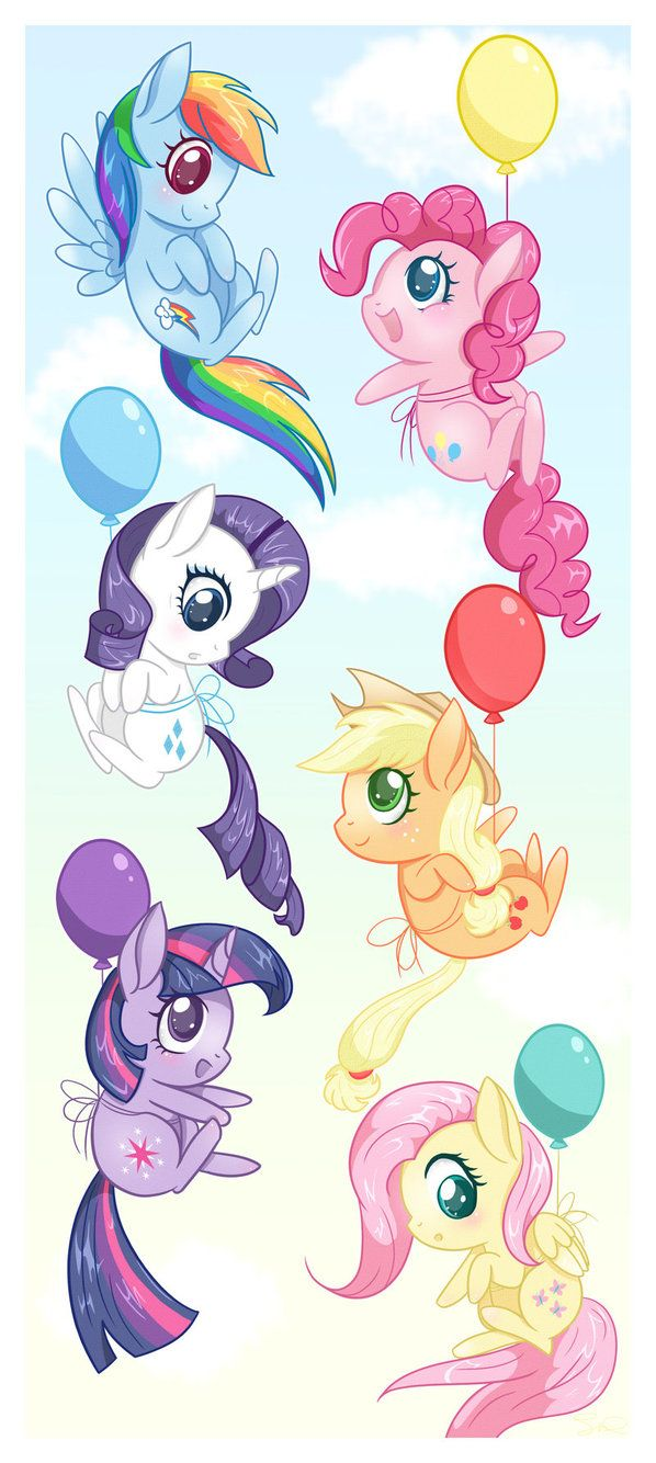 My Little Pony: Friendship is Magic - Mane 6.