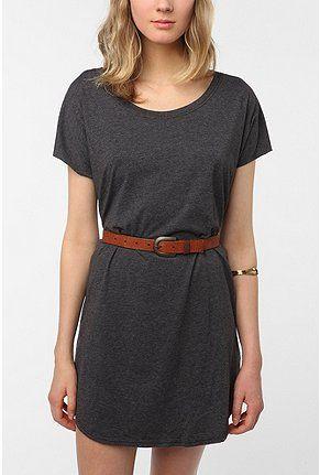 Cottony t-shirt dress