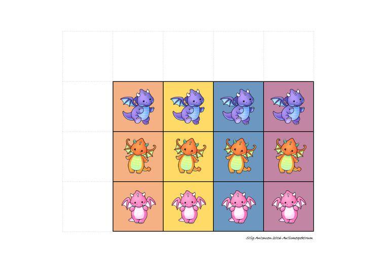 Tiles for the matrix game. Find the belonging board on Autismespektrum on Pinterest. By Autismespektrum