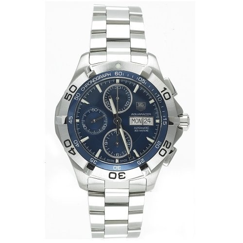 TAG Heuer Men's CAF2012.BA0815 Aquaracer Automatic Chronograph Stainless Steel Watch by TAG Heuer @ TAG-Heuer-Watches .com