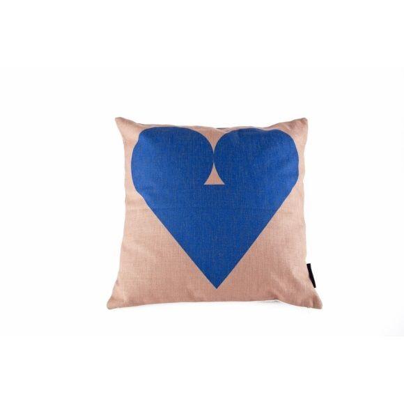 FEST Amsterdam Heart Kussen 45 x 45 cm - Blauw 19 euro