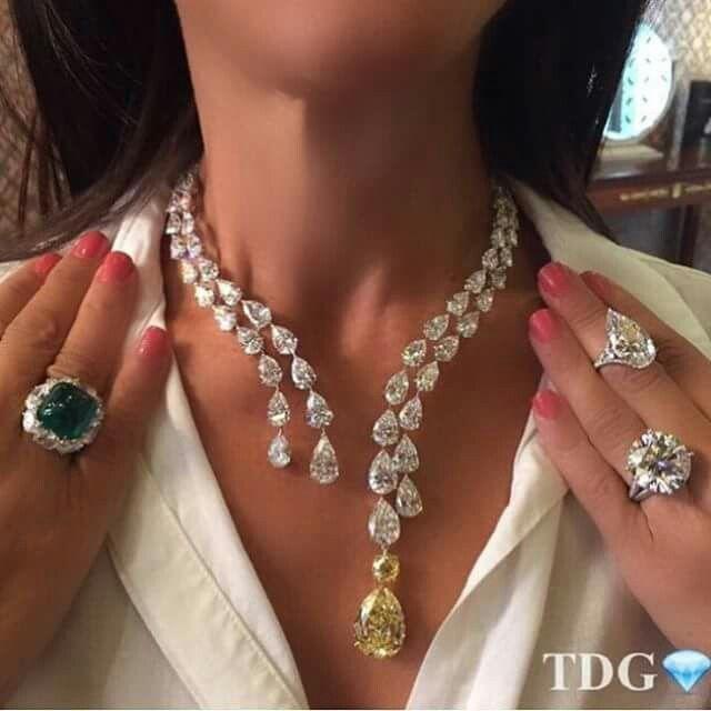 Rare diamond s-natural # yellow pearl-necklace+ diamonds ring e gemstone witch diamond