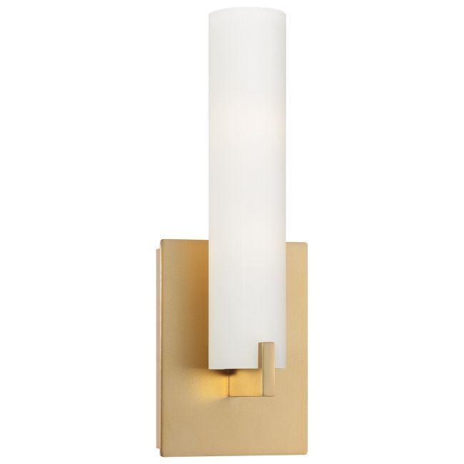 Tube Wall Light George Kovacs At Lightology Wo 60 Watt 120 Volt T4 Dc Bayonet Base Krypton Xenon Lamps Inc Wall Sconces Modern Sconces Wall Sconce Lighting