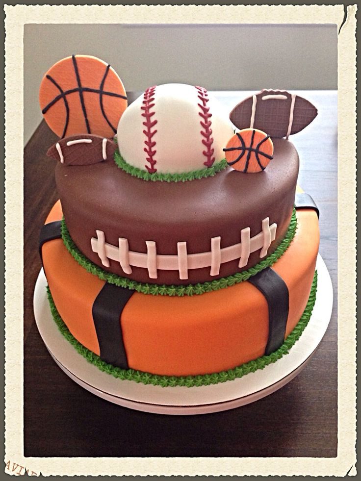 Football and baseball 2 tier