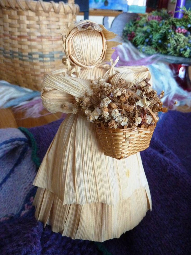Corn Husk Dolls for Sale | My Mother's Hands Have Made…