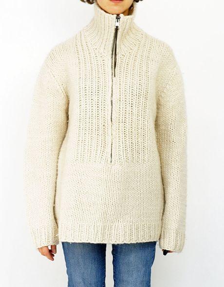 NICOLE FARHI - oversize, men style sweater - shop